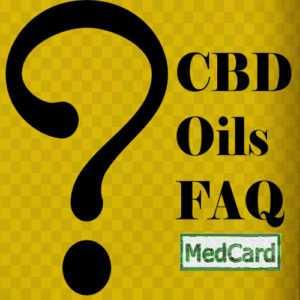 CBD, Cannabidiol Oil FAQ's