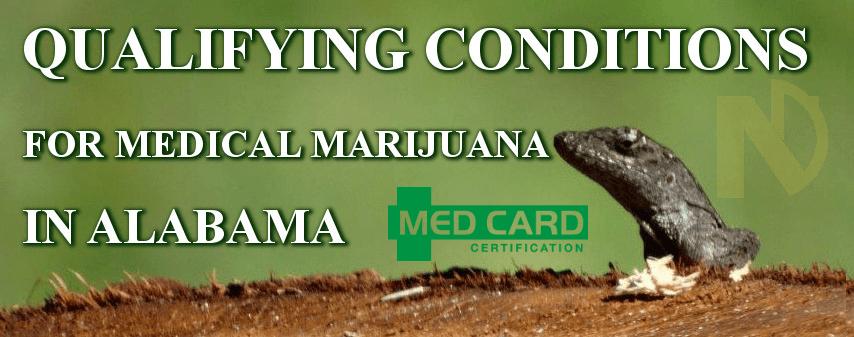 Alabama Marijuana Qualifying Conditions