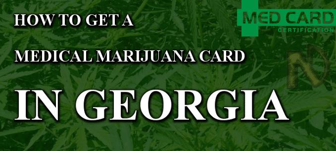 Georgia marijuana cards
