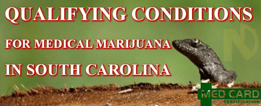 South Carolina Marijuana Qualifying Conditions