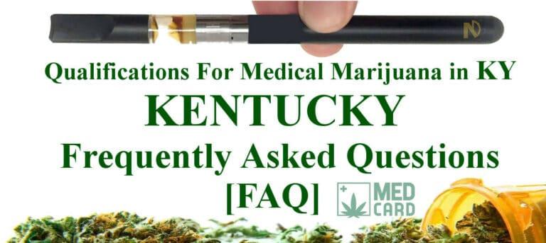 Kentucky Marijuana FAQ