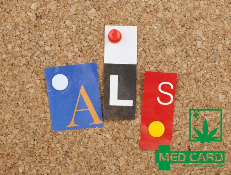How CBD Helps Treat ALS