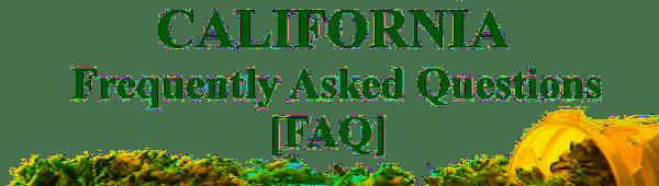 CA MMJ FAQ