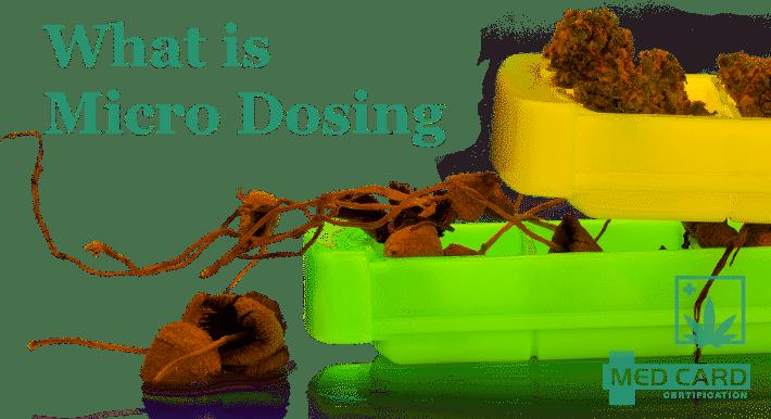 What Is Marijuana Microdosing
